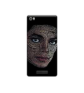 Ebby Premium Printed Back Case Cover With Full protection For Lava Iris X8 (Designer Case)