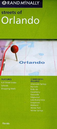Rand McNally Streets of Orlando: Florida