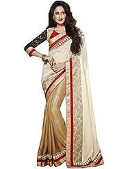 CSE Bazaar Women Indian Beautiful Fancy Party Wear Traditional Wedding Saree - B00SO6LY0M