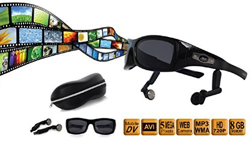 Akita I capture Video Recording Sunglasses