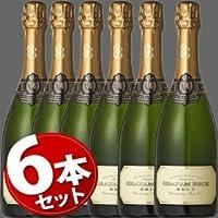 ★6本セット★ グラハム・ベック ブリュット NV グラハム・ベック ワインズ スパークリングワイン 瓶内二次発酵