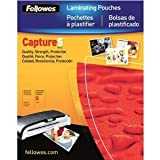 Fellowes Hot Laminating Pouches, Letter, 5 mil, 100 Pack (52040)