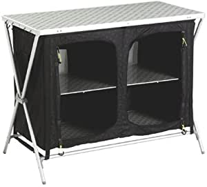 OUTWELL BLACK ARUBA FOLDING CUPBOARD CAMPING/CAMP TABLE EQUIPMENT ACCESSORIES