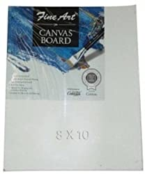 Mixed sizes Painting White Canvas Board (Set of 4)
