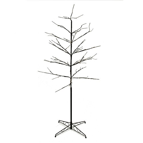 6' Led Lighted Color Combo Christmas Twig Tree Outdoor Yard Art Decoration