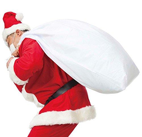 クリスマス小物/大きなサンタさんの袋/男女共用