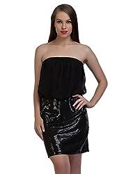 Glitter Off Shoulder Dress