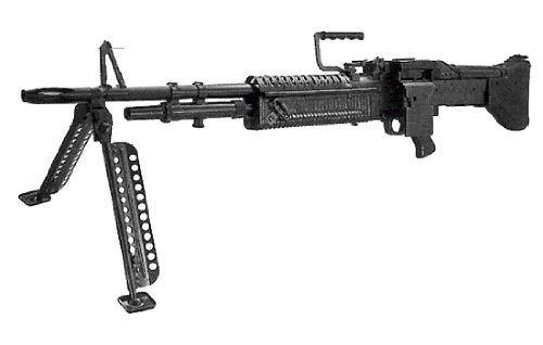 TSSフォーチュン M60マシンガン(USA) 1/2.01スケール