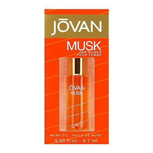 Jovan Musk Perfume Oil 0.33 oz
