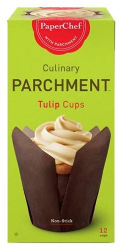 PaperChef Culinary Parchment Tulip Cups
