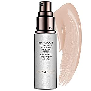 Hourglass Immaculate Liquid Powder Foundation Mattifying Oil Free NUDE 1 oz from Hourglass