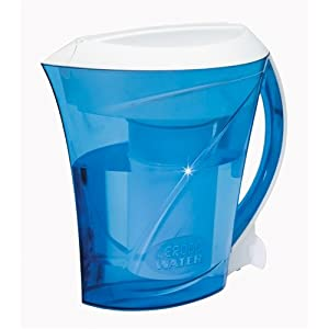 ZeroWater ZD-013 Filtration Pitcher with Electronic Tester, Filter Included