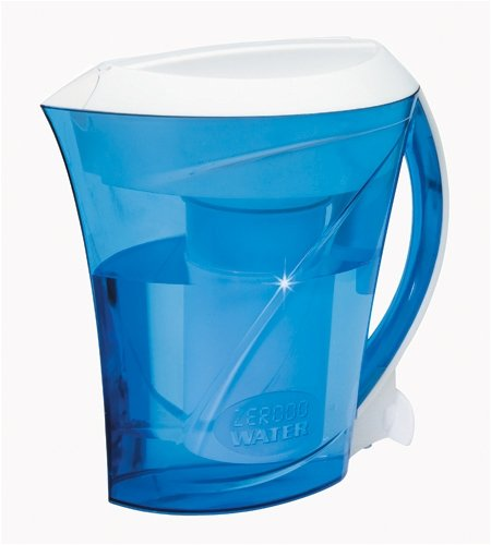 ZeroWater ZD-001 Filtration Pitcher with Electronic Tester, Filter Included
