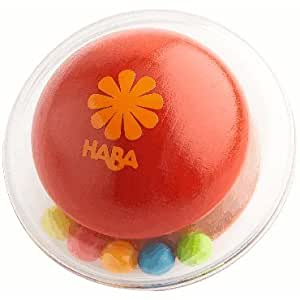 HABA Click Clack Rattle Clutching toy (RED)