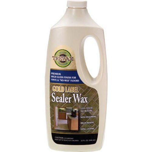 Trewax Gold Label Sealer Wax, Gloss Finish, 32-Ounce (Floor Wax compare prices)