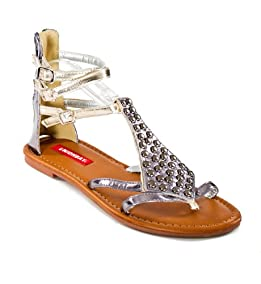 Snakecore Stud Sandals
