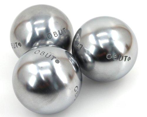 COMPETITION JUNIOR, Obut Boule Wettkampfkugeln, Riffelung 0, Gewicht 660 g kaufen