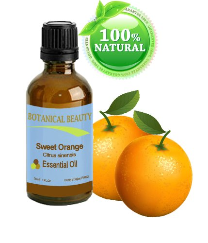 Sweet Orange Essential Oil, 100% Pure, Steam Distilled, 1 oz-30 ml