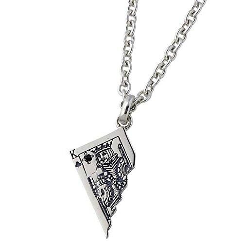 AQUA SILVER アクアシルバー トランプ シルバー ペンダント トップ ダイヤモンド ASP299FBKDM
