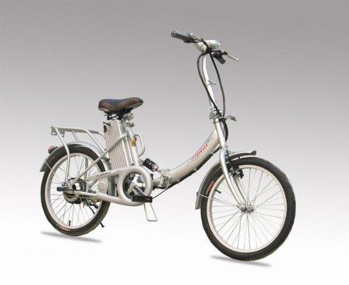 楽々坂道!24V10AH大容量バッテリー搭載。モペット型電動自転車「E-BIKE20h」20インチ