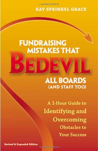 Fundraising Mistakes that Bedevil All Boards (And Staff...