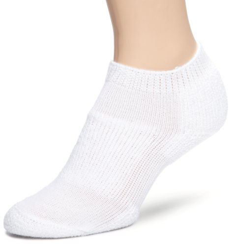 Thorlo Walking Micro Min Crew Sock,White, 6.5-10-Medium