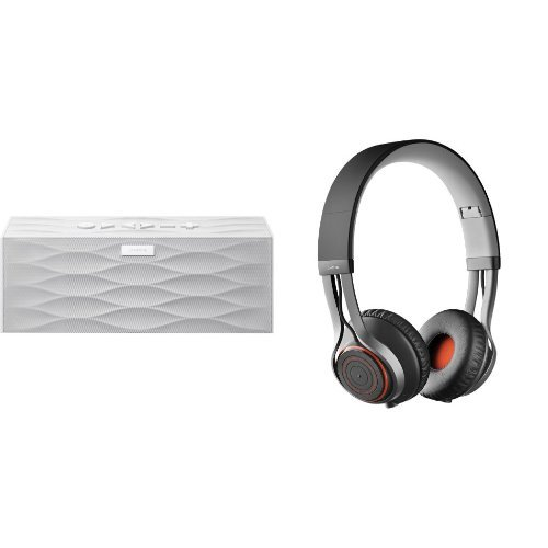 Music Lover Bundle: Jawbone Big Jambox Bluetooth Speaker With Jabra Revo Bluetooth Headphones