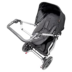 Mountain Buggy Face-to-Face Parent Facing Seat for Terrain Urban Jungle and Plus One Black