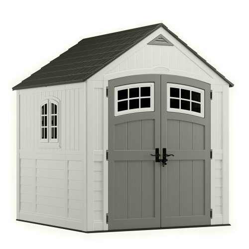Lifetime sheds suncast bms7790 7 by 7 feet storage shed for Cheap outdoor sheds for sale