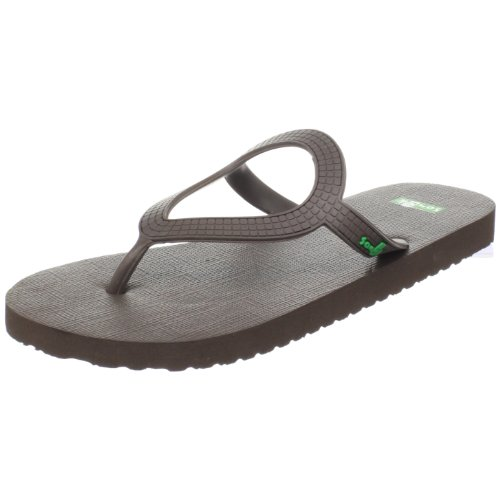 Sanuk Women's Ibiza Sandal,Brown,9 M US