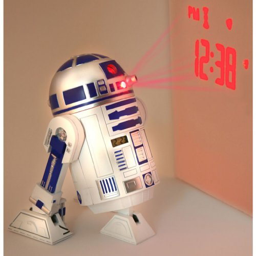 Star Wars Merchandise - R2D2 LED Alarm Clock (Size: 5