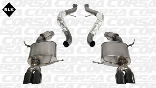 CORSA 14569BLK Cat-Back Exhaust System