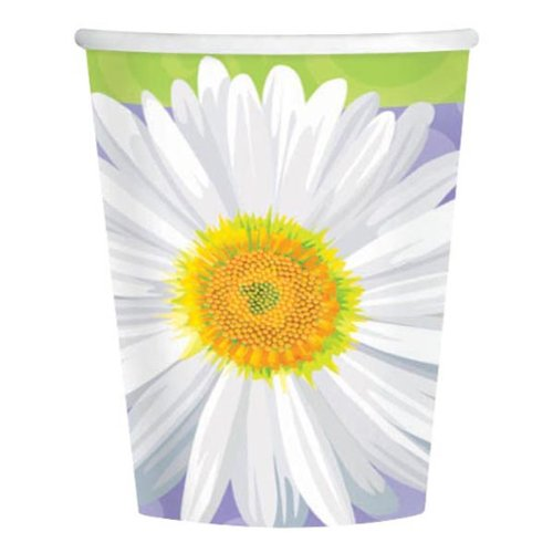 Amscam 8 Count In Bloom Paper Cups, Multicolor
