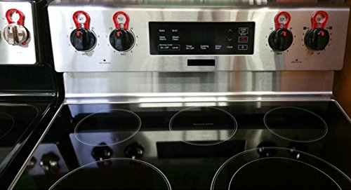 Stove Stoppaz Universal Kitchen Stove Knob Locks 5 Count