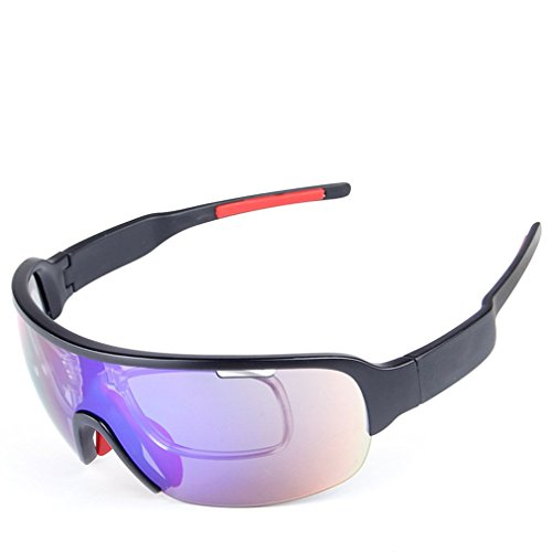 Cheapest Price! Esdar Men's Jawbreaker Half Frame OO9290-14 Non-Polarized Iridium Shield Sunglasses