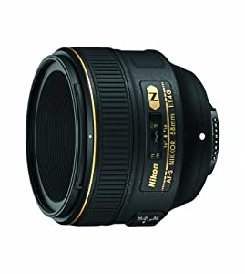Nikon 58mm f/1.4G AF-S NIKKOR Lens for Nikon Digital SLR Cameras by Nikon