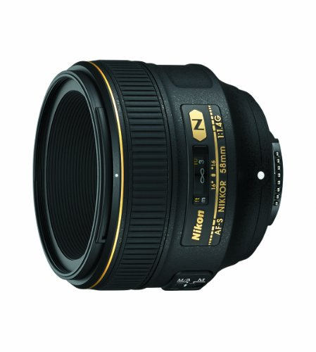 Nikon 58Mm F/1.4G Af-S Nikkor Lens For Nikon Digital Slr Cameras