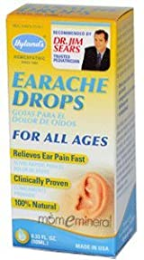 Earache Drops, For All Ages, 0.33 fl oz (10 ml) by Hyland's