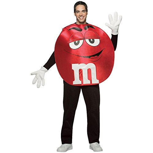 GSG M&M's Character Deluxe Costume Adult M&M's Halloween Fancy Dress