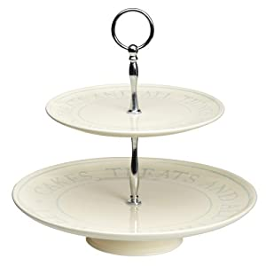 Kitchen Craft Classic Collection Two Tier Cake Stand