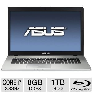 ASUS N76VZ-DS71 17.3-Inch Laptop (Black)
