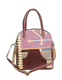 Traditional Rugs Made Handbag Indian Ethnic Printed Shopping Bag