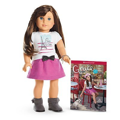 American Girl Grace - Grace Doll and Paperback Book - American Girl of 2015 from Mattel
