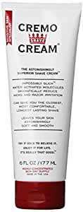Cremo Astonishingly Superior Shave Cream, 6 Fluid Ounce
