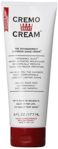 Cremo Astonishingly Superior Shave Cream, 6 Fluid