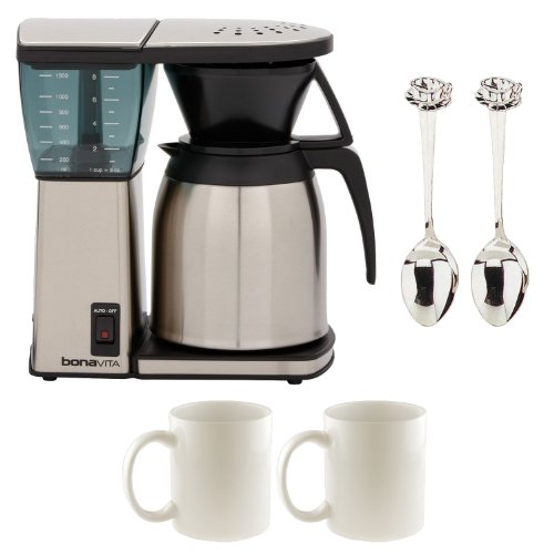 Bonavita BV1800TH 8 Cup Coffee Maker w/ Thermal Carafe + Accessory Kit