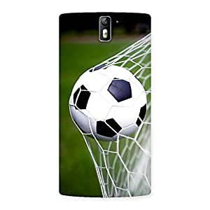 Impressive Goal Green Back Case Cover for One Plus One