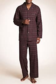 Pure Cotton Check Thermal Pyjamas [T07-2245-S]
