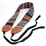 Bluecell LC-006A Multi Color Digital SLR Camera/Camcorder Neck Shoulder Straps Belt