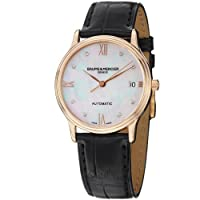 Baume and Mercier Classima Mother of Pearl Diamond Dial Ladies Watch M0A10077 from Baume et Mercier